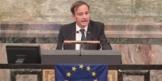 Rede bei den Young European Federalists in der Aula der Uni Zürich